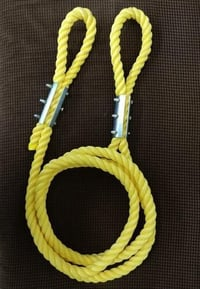 Yellow PP Towing Rope