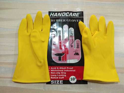 Hand Gloves Industrial Rubber