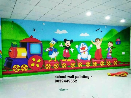 Kids School Wall Painting Service Rajkot In Vijay Nagar Indore
