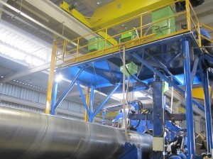 Ssaw Steel Pipe Mill Line For 508-3020mm