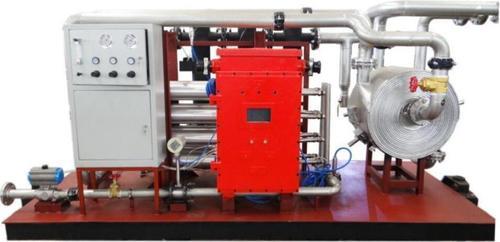 Underground Membrane Separation Nitrogen Generating Device Application: Extinguishing Fire