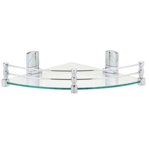 Thick Tempered Glass Corner Shelf