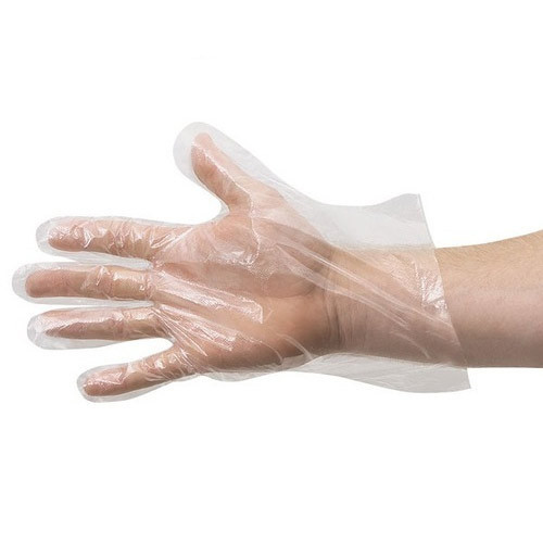 Transparent Disposable Hand Glove