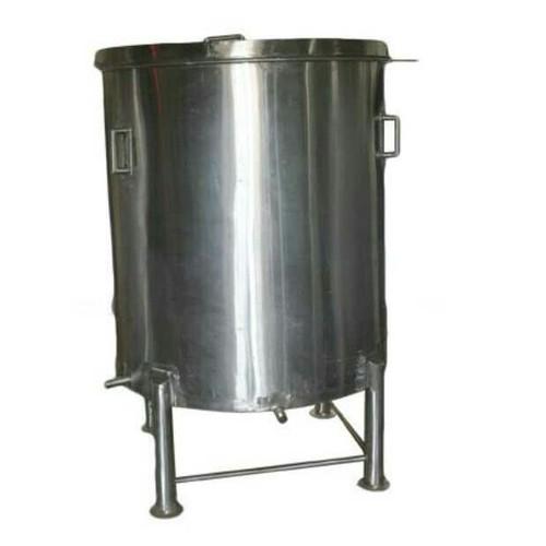 Round Stainless Steel Storage Tank
