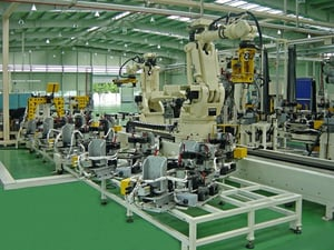 High Performance Assembly Line Machine