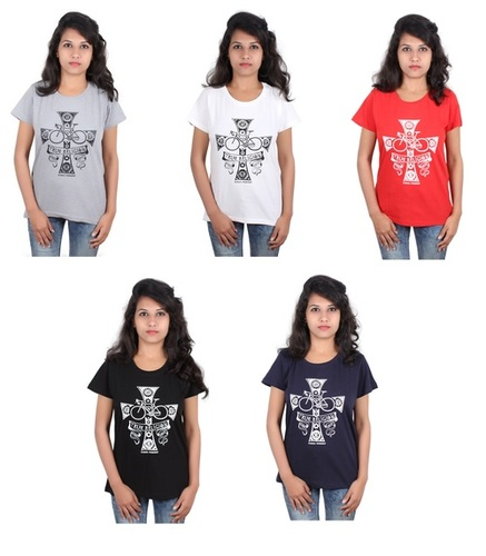 Branded Trifoi Ladies T- Shirts Tops