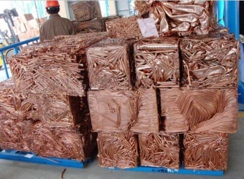 Industrial Copper Wire Scraps
