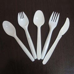 Disposable Plastic Spoons And Fork