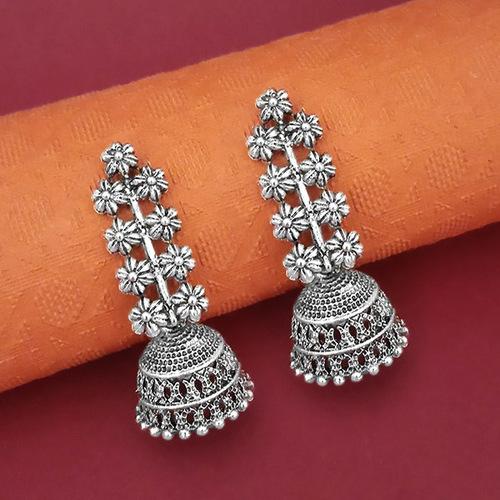 Zinc Alloy Jhumka Earrings