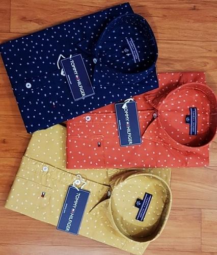Multicolors Branded Mens Formal Shirts