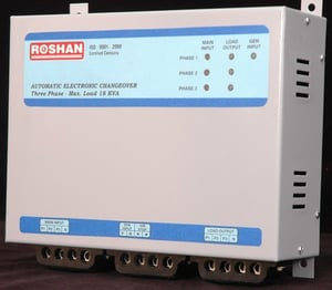 Three Phase Changeover Transfer Switch