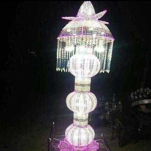 Trolley Crystal Pillar