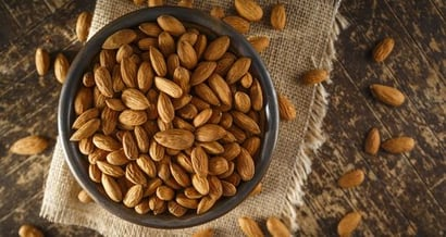 Delicious Taste Almond Nuts Certifications: Certificate Of Analysis Available On Request.