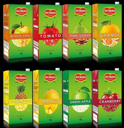 100% Freshly Squeezed Delmonte Juices