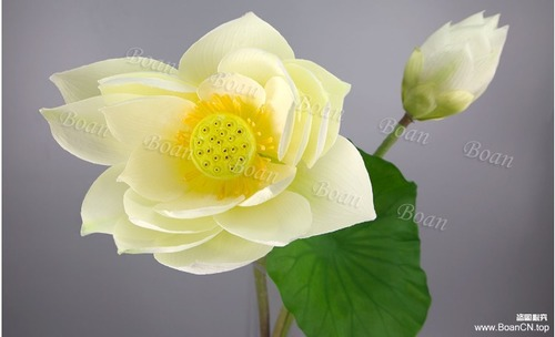 Artificial Yellow Lotus Flower