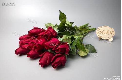 Beautiful Artificial Red Roses