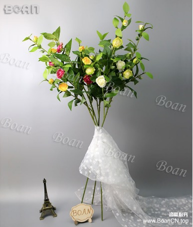 Decorative Artificial Camellia Flower