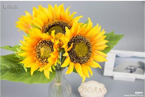 Modern Artificial Sunflower Bouquet
