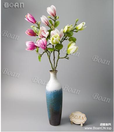 Multicolor Artificial Magnolia Bouquet