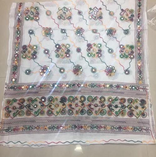 Ladies Embroidered Gujari Dupatta