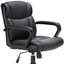 Office Leather Chairs With Armrest