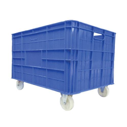 Blue Color Plastic Crate
