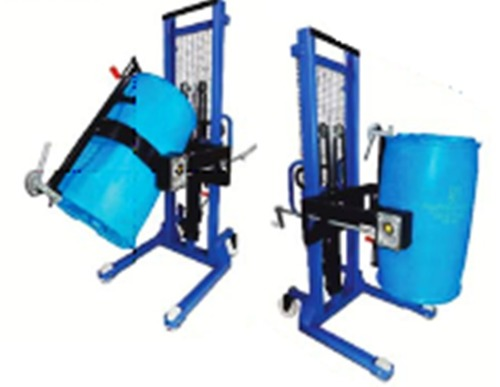 Durable Powder Coat Drum Stacker