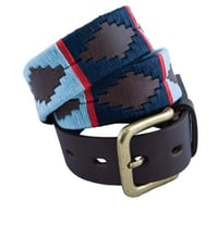 Leather Argentine Belts Polo Belt Hand Woven Unisex Polo Belt