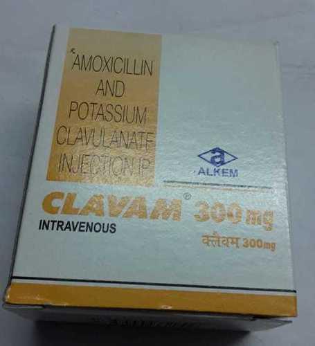 Amoxycillin Potassium Clavulanate Injection 300 mg