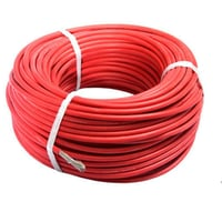 Flexible Electrical Cables Red Color