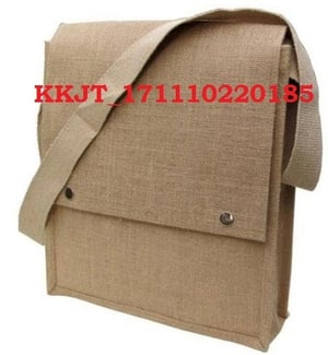 Handmade Jute Conference Bag Is In Vogue As An Accessory With The Traditional