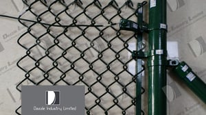 Cap, Clips, Screw, Chain Link Fence Using