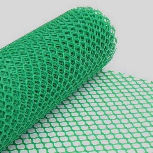 Green P.V.C. Mesh Net
