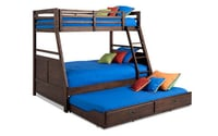 Pure Wooden Kids Bed