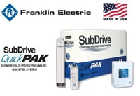SubDrive QuickPak Submersible Hydro Pneumatic Booster System