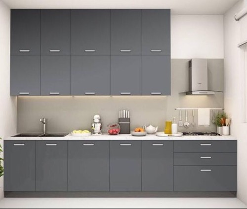 Wooden Modern Modular Kitchen - Modulinea Modular Systems