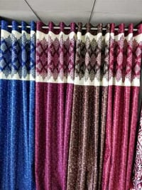 Long Crush Readymade Curtains For Door, Window