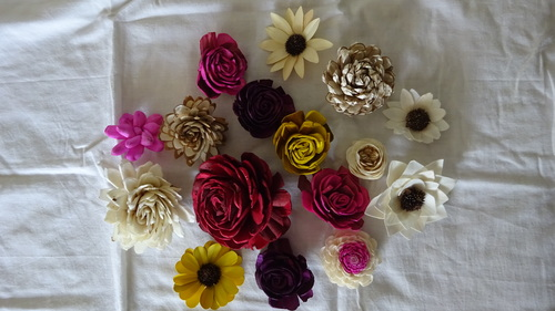 Assorted Sola Flower