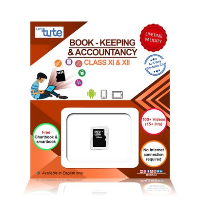 Combo Book-Keeping And Accountancy Sd Card Topic Wise