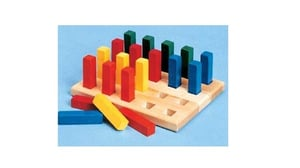Different Colors Peg Boards