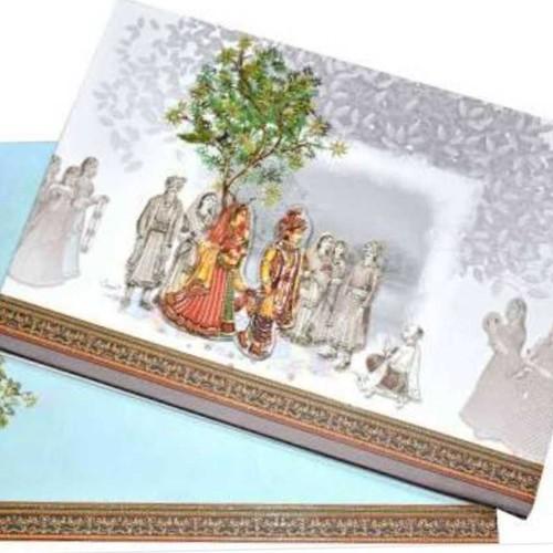 Precise Handmade Wedding Card