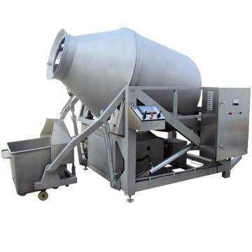 Vacuum Meat Tumbler Machine Material: Stainless Steel