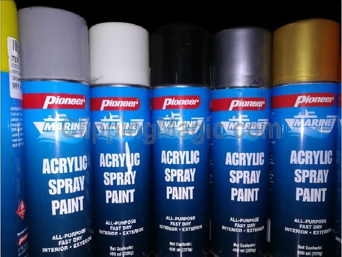 Water Resistant Acrylic Spray Paint