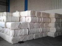 Waste Raw Cotton Bale