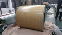 Color Coated Steel Coils Wood Finish