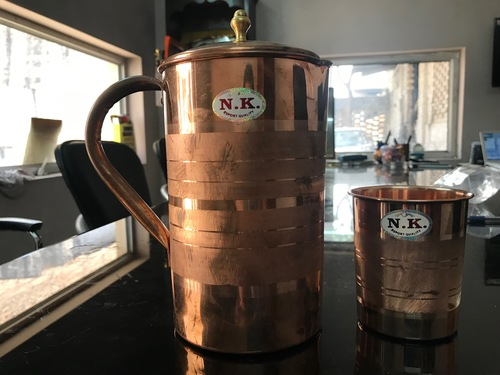 Copper Jug For Storing Water