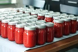 Fresh Canned Tomato Paste