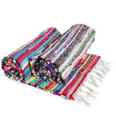 Multi Chindi Rug Rag Rugs