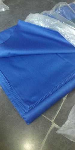 Blue Color Polyester Shirting Fabric