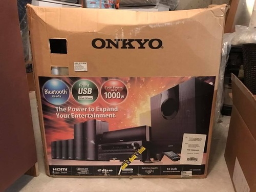 Home Theater Package System (Onkyo Ht-S5600 (B) 7 1ch